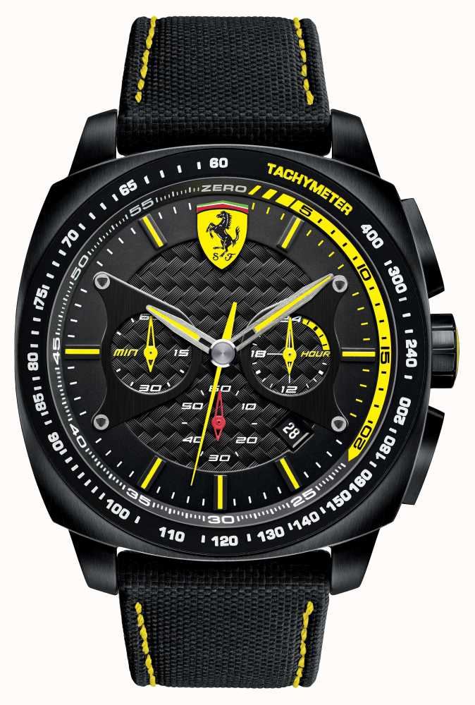 scuderia ferrari montre chronographe de mens 0830165 first class watches fra. Black Bedroom Furniture Sets. Home Design Ideas