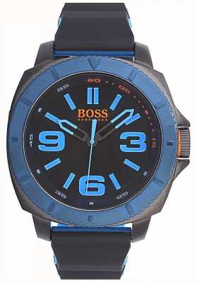 Hugo Boss Orange Mens montre classique avec cadran noir 1513108