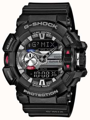 Casio Hommes g-shock g'mix bluetooth 4.0 smartwatch GBA-400-1AER