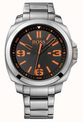 Hugo Boss Orange Mens montre classique avec cadran noir 1513099
