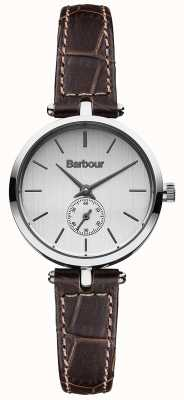 Barbour Lisle cuir marron bracelet de montre BB011SLBR