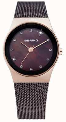 Bering Mesdames acier inoxydable montre analogique à quartz 12927-262