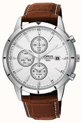 Lorus Mens chronographe montre bracelet d'alarme RF325BX9