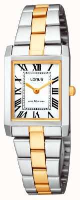 Lorus Classique carré montre bracelet de dames RTA03AX9