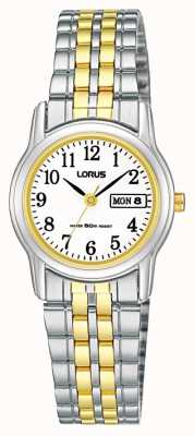 Lorus Two-tone bracelet de montre bracelet RXU11AX9