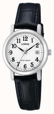 Lorus Mesdames montre bracelet en cuir RH765AX9