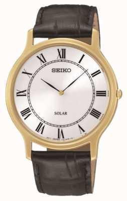 Seiko Mens Watch énergie solaire SUP878P1