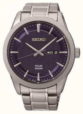 Seiko Mens Watch énergie solaire SNE361P1