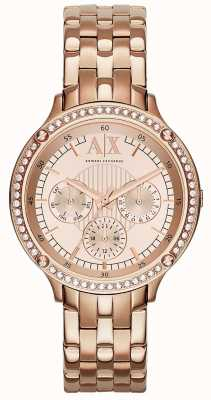 Armani Exchange regarder dames Capistrano AX5406