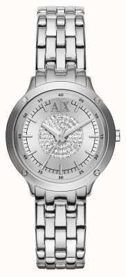 Armani Exchange Cristal montre bracelet bracelet AX5415