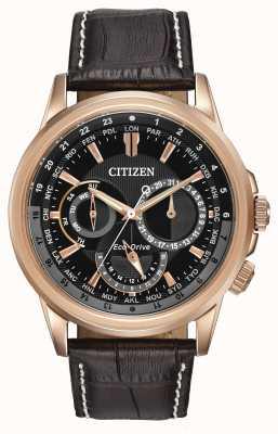 Citizen Hommes calendrier rose ton Eco-Drive montre chronographe BU2023-04E
