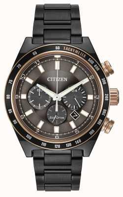 Citizen Gunmetal montre Eco-Drive CA4207-53H