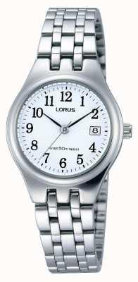 Lorus Ladies en acier inoxydable montre de date RH791AX9