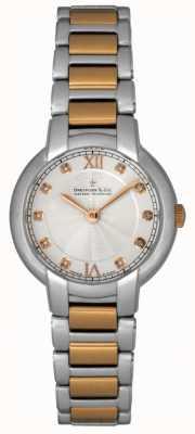 Dreyfuss Mesdames diamant serti de deux montre de tonalité DLB00062/D/01