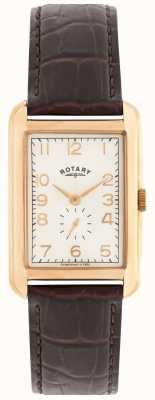 Rotary mens Portland rose montre robe de ton GS02699/01