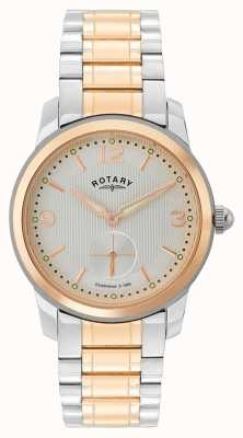 Rotary | Montre deux tons cambridge mens | GB02701/01