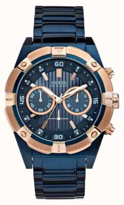 Guess Mens montre de secousse W0377G4