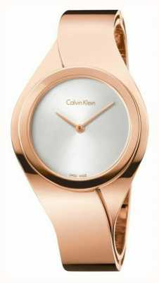 Calvin Klein Womens montre en or rose K5N2S626