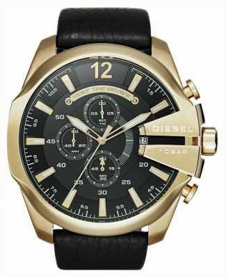 Diesel mega chef ton or montre chronographe Homme DZ4344
