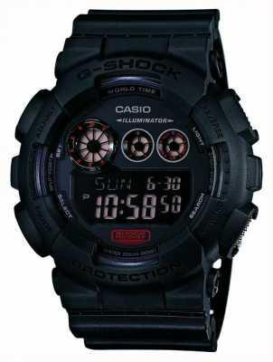 Casio Mens G-Shock mat bracelet en résine noire GD-120MB-1ER