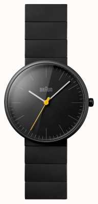 Braun Unisexe céramique noire montre habillée BN0171BKBKG