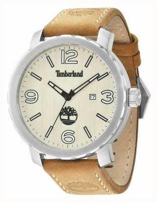 Timberland Mens pinkerton tan bracelet en cuir 14399XS/07