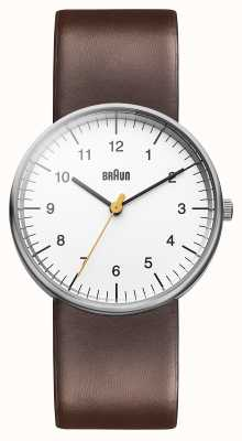 Braun Mens Watch marron blanc BN0021WHBRG