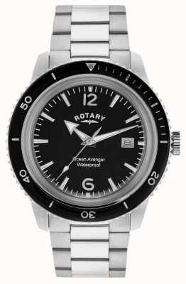 Rotary Ocean vengeur hommes en acier inoxydable GB02694/04
