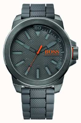 Hugo Boss Orange New York silicone gris 1513005