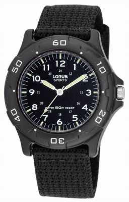 Lorus Militaire bracelet en toile RRS51FX9