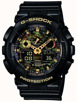 Casio G-choc cadran alarme chronographe de camouflage GA-100CF-1A9ER