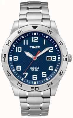 Timex Mens fieldstone façon d'acier inoxydable TW2P61500