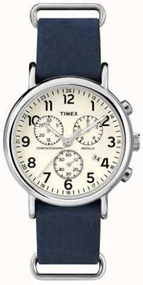 Timex Chronographe week-end mensuel surdimensionné TW2P62100