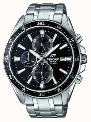 Casio Acier inoxydable Edifice chronographe noir EFR-546D-1AVUEF