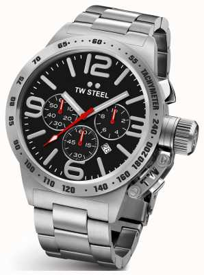 TW Steel Acier inoxydable Gents cantine 45mm chrono CB7