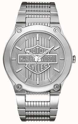 Harley Davidson En acier inoxydable avec des aiguilles lumineuses 76A134