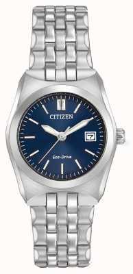 Citizen Womens entraînement éco corso WR100 cadran bleu foncé EW2290-54L