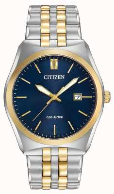Citizen Gents Eco-Drive corso WR100 deux tons BM7334-58L