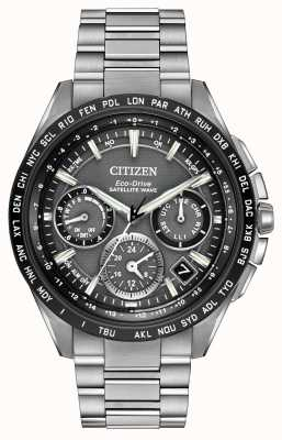 Citizen Mens f900 gps chrono d'onde par satellite CC9015-71E