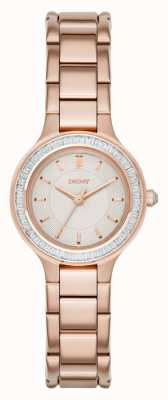 DKNY jeu chambres dames de pierre rose PVD or NY2393