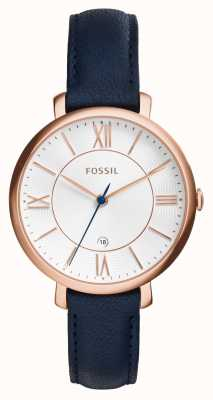 Fossil jacqueline Womens cuir rose pvd or ES3843