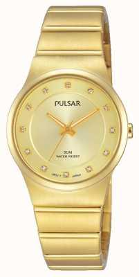 Pulsar Mesdames plaqué or PVD PH8170X1