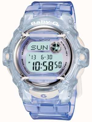 Casio Montre numérique pour femme lilas / bleu Baby-G BG-169R-6ER