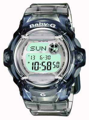 Casio Womens baby-g numérique transparent BG-169R-8ER