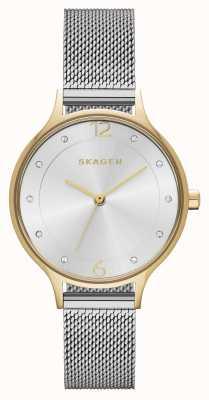 Skagen Womens anita maille d'acier inoxydable SKW2340