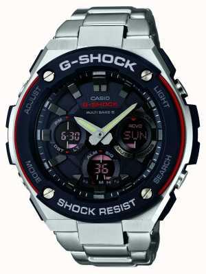 Casio G-acier de radio G-Shock Controlled Auto conduit GST-W100D-1A4ER