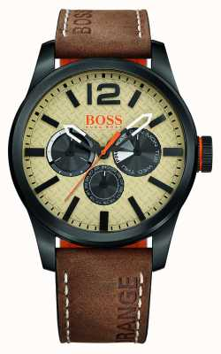 Hugo Boss Orange Hugo Boss paris bracelet brun 1513237