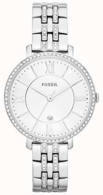 Fossil Womens acier inoxydable jacqueline ensemble de pierre ES3545