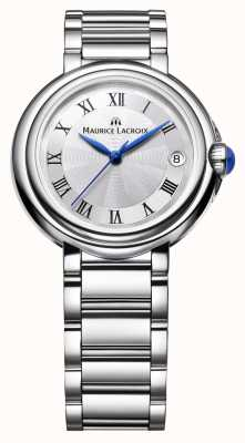 Maurice Lacroix Ladies fiaba 28mm rond en acier inoxydable FA1004-SS002-110-1