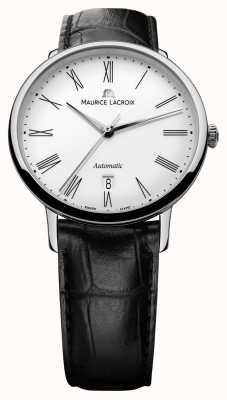 Maurice Lacroix Hommes Les Classiques jour automatique noir LC6067-SS001-110-1